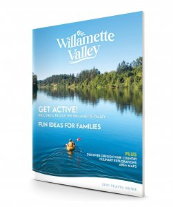 Willamette Valley 2020 Travel Guide cover