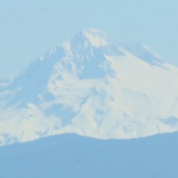 A shot of Mt Hood in the distance